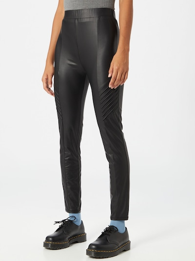 ABOUT YOU Leggings 'Duffy' in schwarz, Modelansicht