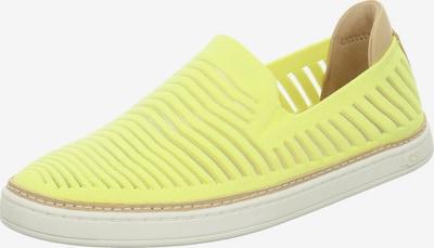 UGG Slipper in neongelb, Produktansicht