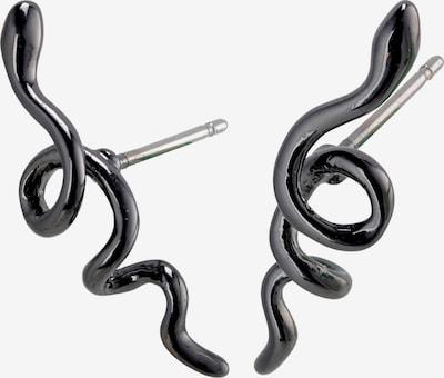 Pilgrim Ohrringe in schwarz, Produktansicht