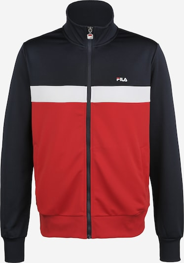 FILA Trainingsjacke 'Sanga' in blau / rot / weiß, Produktansicht