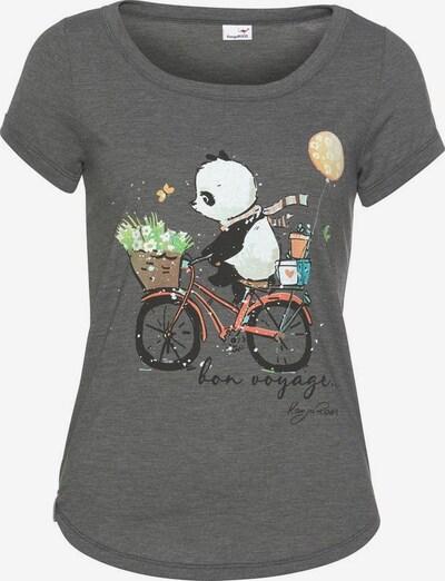 KangaROOS T-Shirt in dunkelgrau / grün / rot / schwarz / weiß, Produktansicht