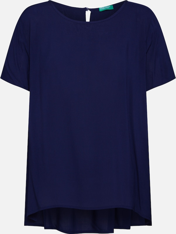 UNITED COLORS OF BENETTON Blouse in de kleur Navy, Productweergave