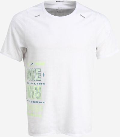 NIKE Sportshirt 'Rise 365 Wild Run' in weiß, Produktansicht
