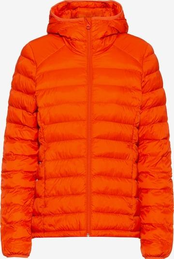 Scheck Steppjacke in orange, Produktansicht
