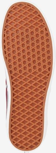 VANS Sneaker 'Authentic' in bordeaux: Ansicht von unten