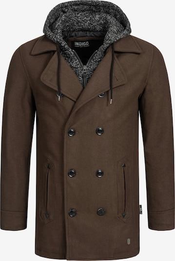 INDICODE JEANS Winterjas 'Cliff Jacke' in de kleur Sepia, Productweergave