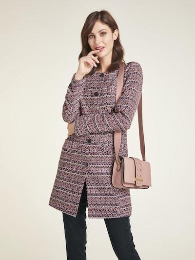 heine Overgangsfrakke i lilla / blandingsfarvet / lyserød, Modelvisning