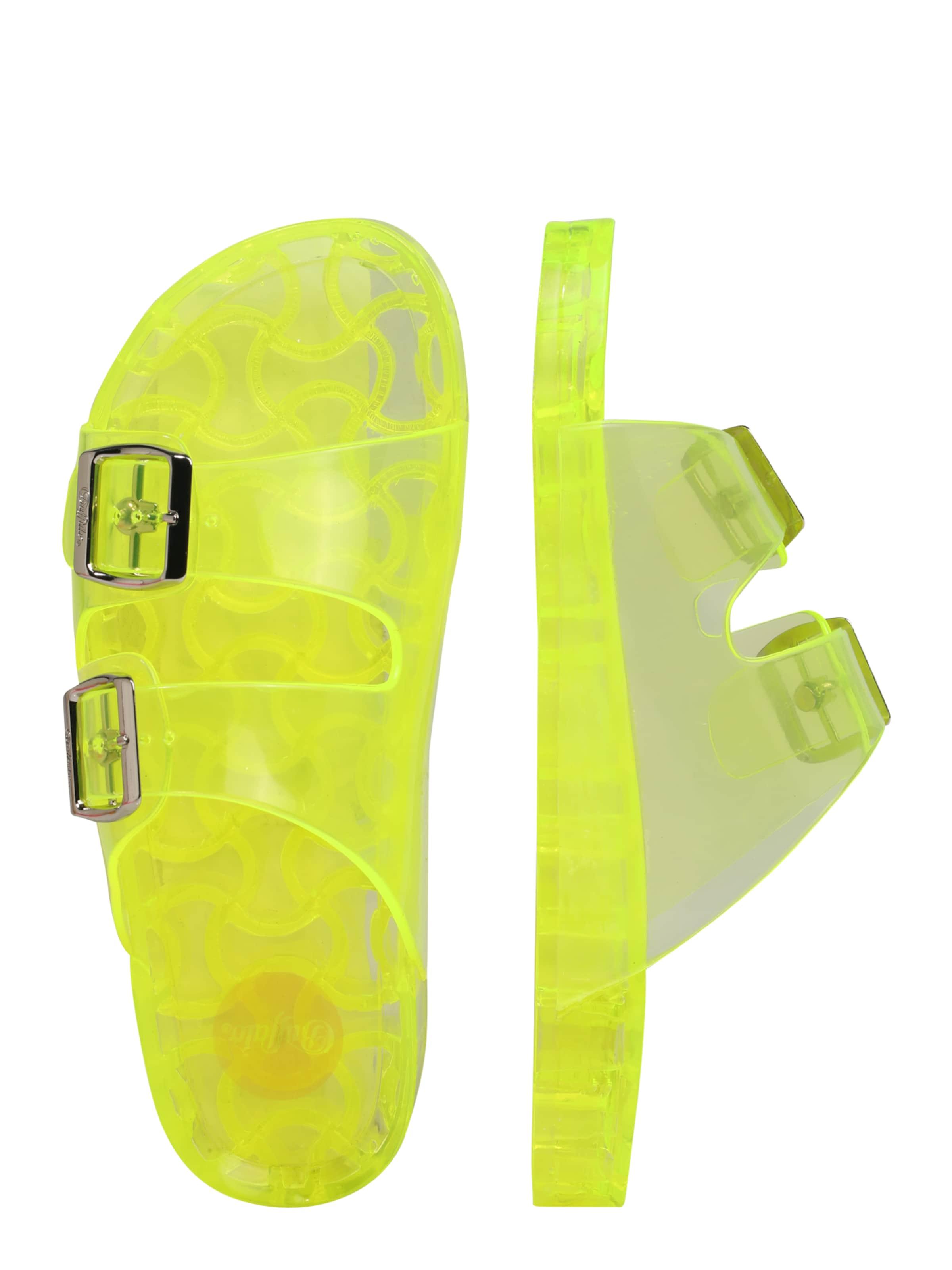 'enora' Neongelb 'enora' Sandale Sandale In In Buffalo Neongelb Buffalo Buffalo 9WIE2DHY