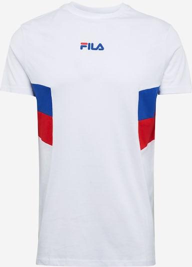 FILA Shirt 'Barry' in blau / rot / weiß, Produktansicht