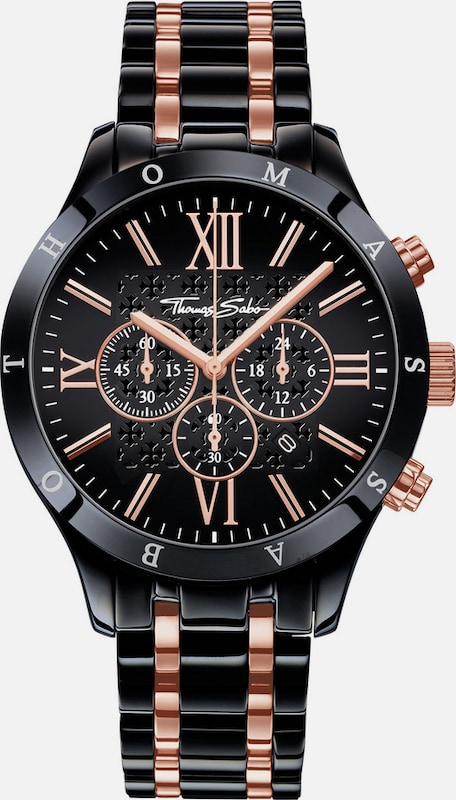 Thomas Sabo Chronograph »REBEL URBAN, WA0196«