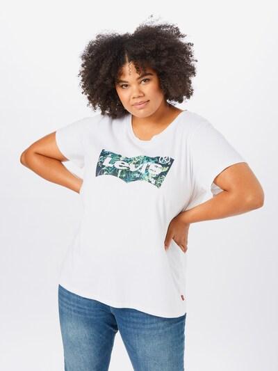 Levi's® Plus Koszulka w kolorze mieszane kolory / białym, Podgląd na modelu(-ce)
