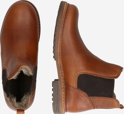 BULLBOXER Chelsea Boots en cognac: Vue de profil