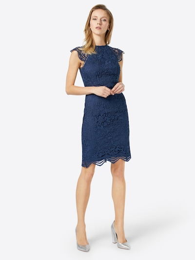 Chi Chi London Cocktailkleid in navy, Modelansicht