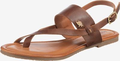 MEXX Sandale 'Evelinn' in braun, Produktansicht