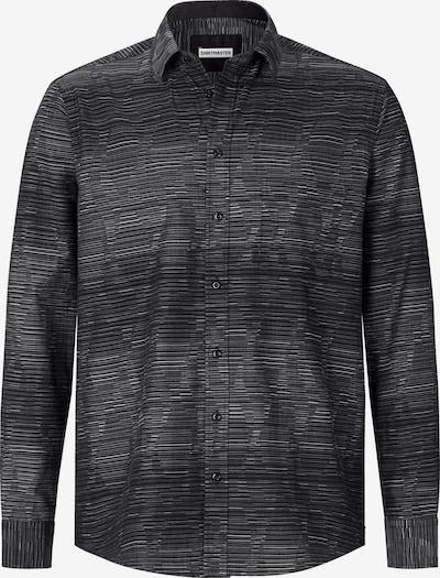 Shirtmaster Chemise ' Blackmidnight ' en noir: Vue de face
