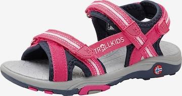 TROLLKIDS Sandale in Pink