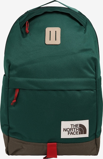 THE NORTH FACE Rucksack 'Daypack' in brokat / dunkelgrün, Produktansicht