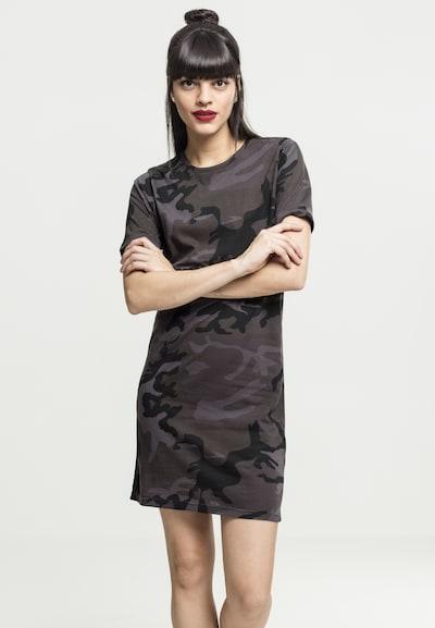 Urban Classics Kleid in khaki / schwarz, Modelansicht
