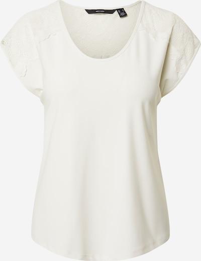 VERO MODA Koszulka 'Milla' w kolorze białym: Widok z przodu