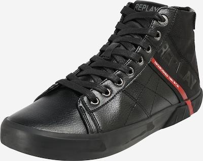 Sneaker înalt REPLAY pe roșu / negru, Vizualizare produs