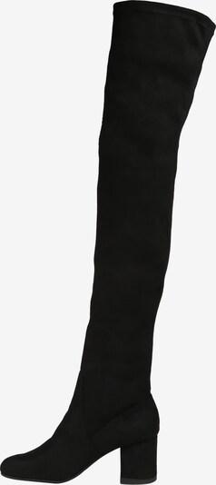 STEVE MADDEN Overknee Boot 'ISAAC' in schwarz: Seitenansicht
