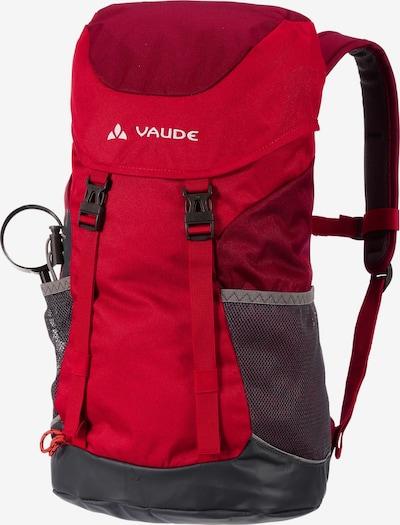 VAUDE Kids Puck 14 Rucksack 48 cm in grau / rot, Produktansicht