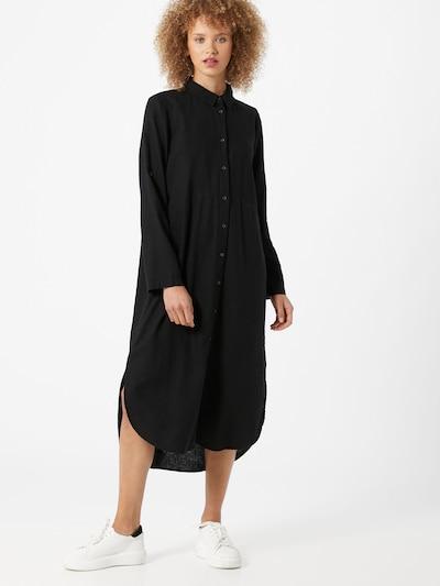Soyaconcept Košeľové šaty 'Ina 8' - čierna: Pohľad spredu