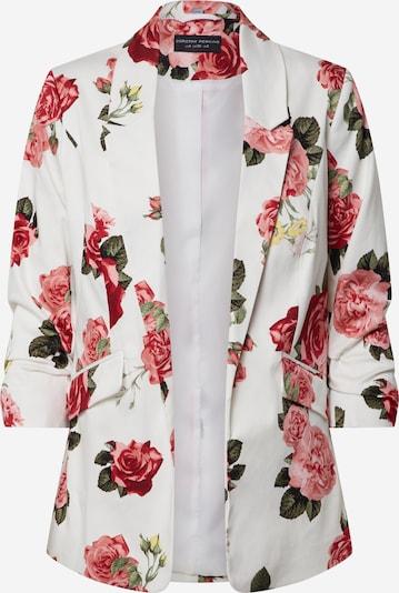 Dorothy Perkins Blazer 'Ivory Rose' in rot / weiß, Produktansicht