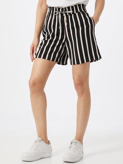ONLY Kalhoty - černá / bílá, Model/ka