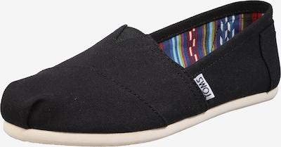 Papuci de casă 'Alpargata Core' TOMS pe negru, Vizualizare produs