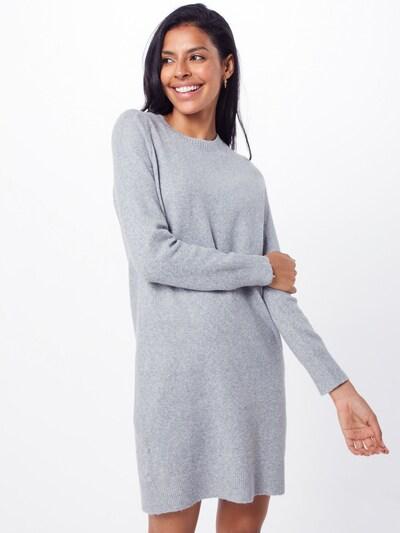 VERO MODA Kleid 'DOFFY' in hellgrau, Modelansicht
