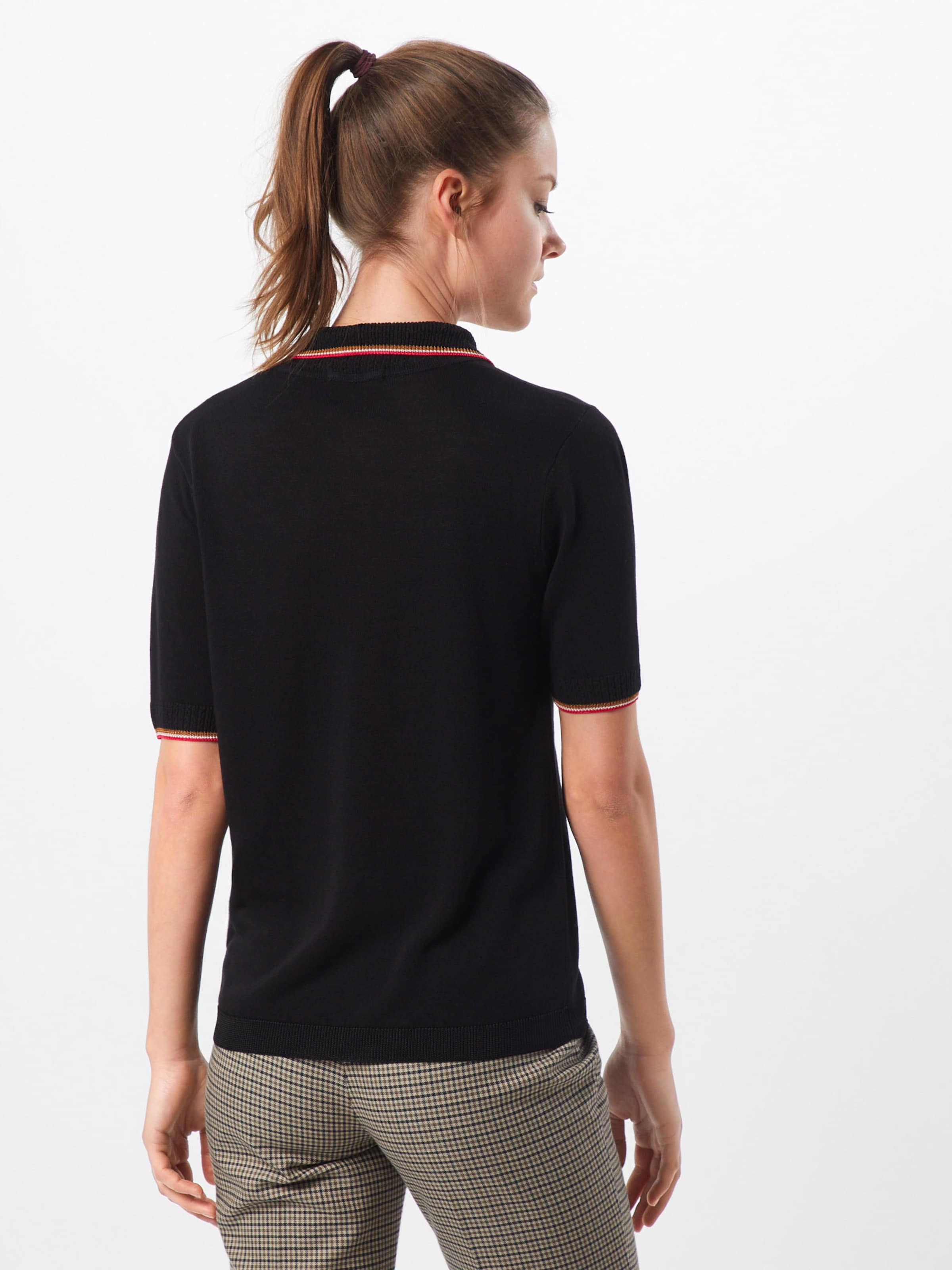 CaramelRose With T shirt Scotchamp; Soda Ribs' Polo En 'drapy Sporty Noir Knitted Igf7vyYb6m