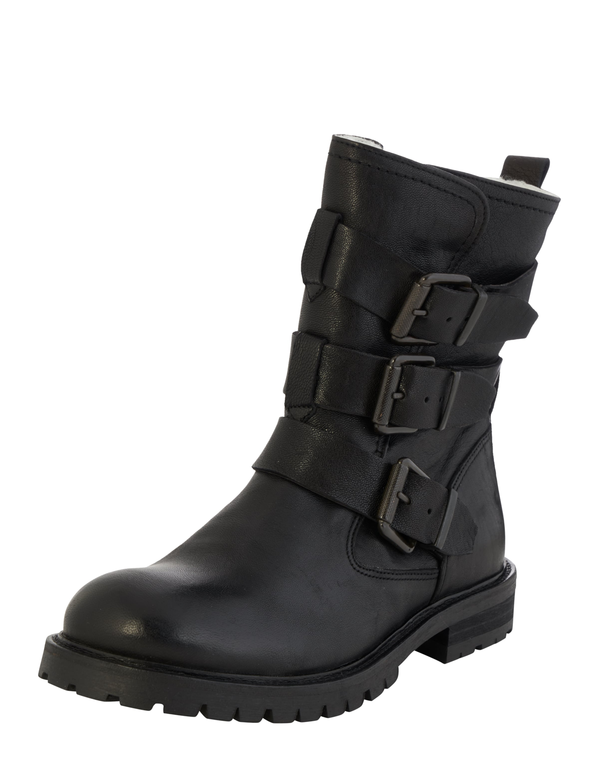 Billi Bi Stiefel mit Schnallen Real Für Verkauf 9xqNtw