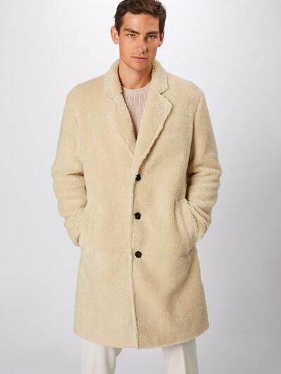 HUGO Mantel 'Merlon' in beige, Modelansicht