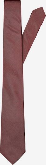 SELECTED HOMME Cravate en lie de vin, Vue avec produit