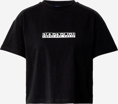 NAPAPIJRI Tričko - černá / bílá, Produkt
