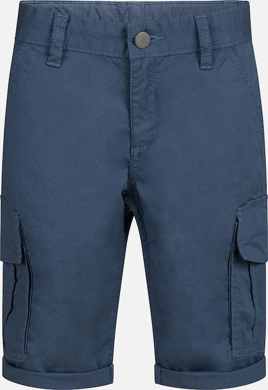 WE Fashion Cargoshorts 'REMCO' in blau, Produktansicht
