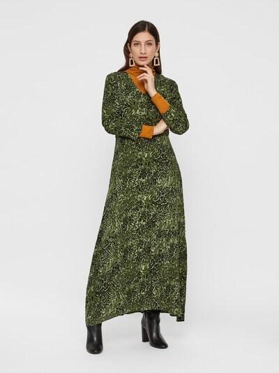 Y.A.S Robe en vert foncé: Vue de face
