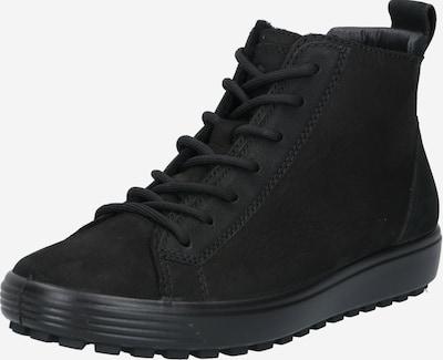 ECCO Baskets hautes 'SOFT 7 TRED' en noir, Vue avec produit
