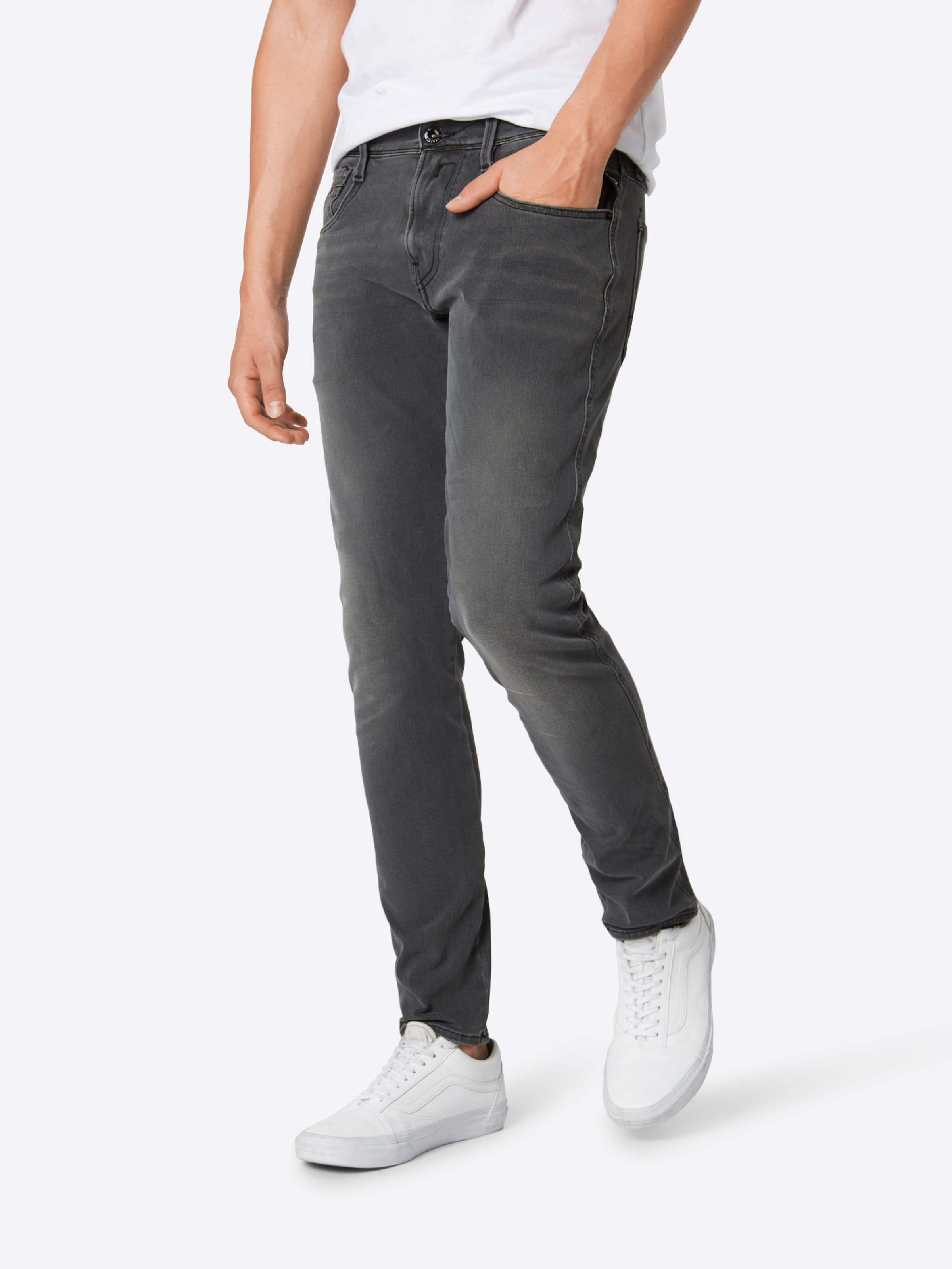 Replay Jean Denim Gris En 'anbass' 7gvYfyb6