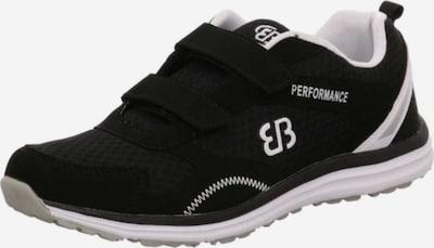 Brütting Lage schoen in de kleur Zwart / Wit, Productweergave