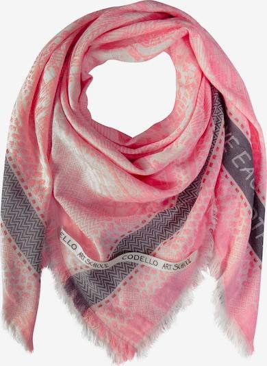 CODELLO Tuch in pink: Frontalansicht