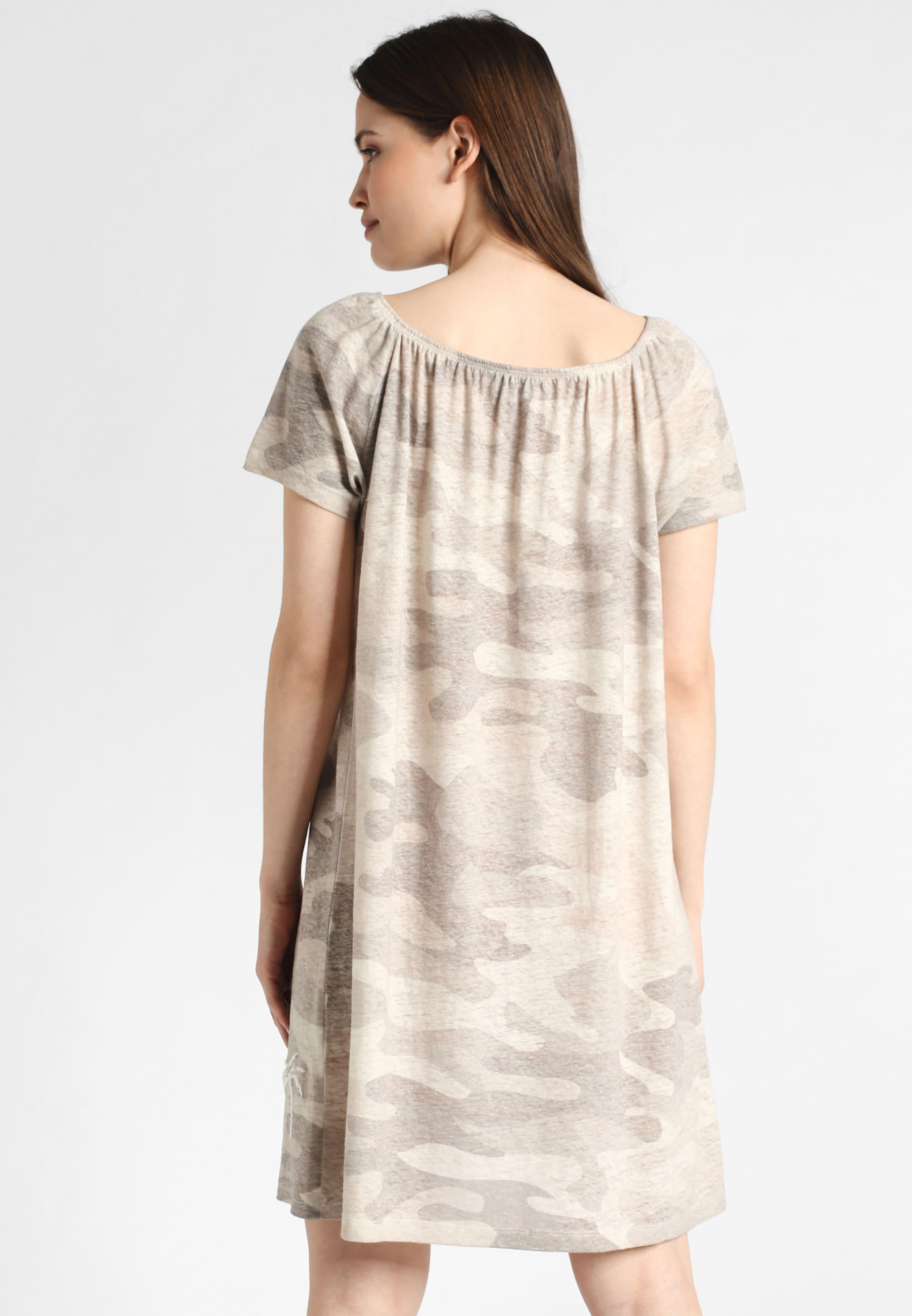 Grace Mit Kleid Jersey Muster In Beige lFJKc3uT1
