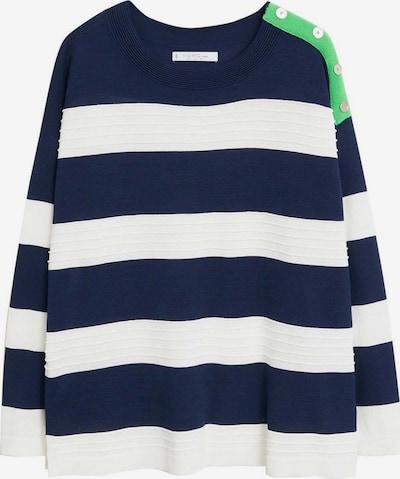 VIOLETA by Mango Sweter w kolorze niebieski / białym, Podgląd produktu