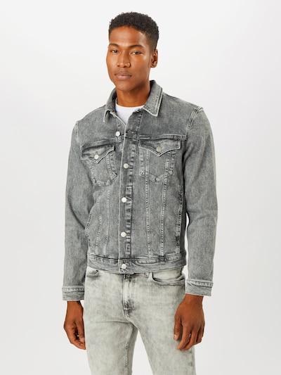 Calvin Klein Jeans Jacke in grey denim, Modelansicht