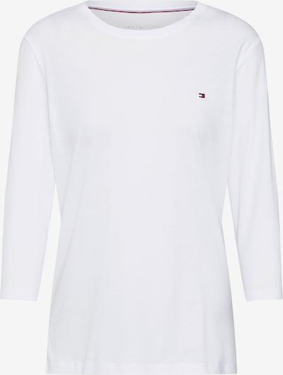 TOMMY HILFIGER Shirt 'HERITAGE CREW NECK 3' in de kleur Wit, Productweergave