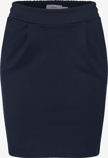ICHI Rok 'KATE' in de kleur Navy, Productweergave