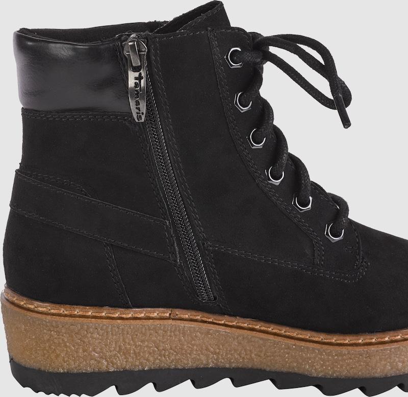 Haltbare Mode billige Schuhe TAMARIS | Schnürstiefelette aus Leder Leder Leder Schuhe Gut getragene Schuhe 583f0a
