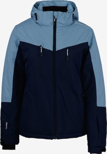Whistler Skijacke 'Joline' in nachtblau / hellblau, Produktansicht