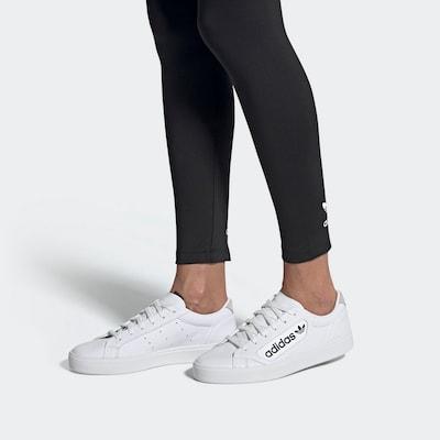 ADIDAS ORIGINALS Sneakers laag in de kleur Grijs / Zwart / Wit: Vooraanzicht